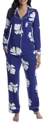The Cat's Pajamas Icelandic Poppy Pima Knit Pajama Set