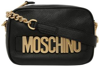 Moschino Logo Zip Top Crossbody Bag