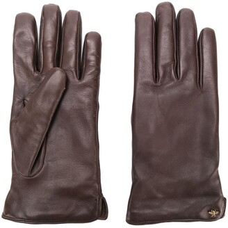Gucci Bee Motif Gloves