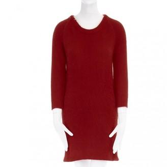 IRO Red Wool Dresses