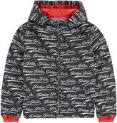 Philipp Plein Printed windbreaker