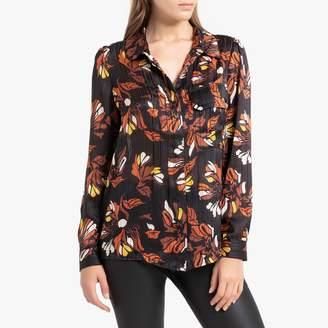 BA&SH Ava Printed Long-Sleeved Shirt