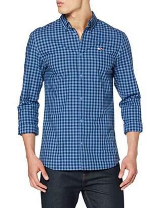 Tommy Hilfiger Men's TJM Gingham Shirt Casual,Large