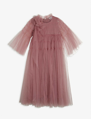Raspberry Plum Kizzy flower tulle dress 3 -14 years