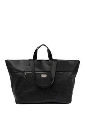 Madden-Girl Shimmer Faux Suede Weekend Bag