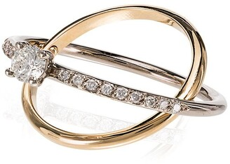 Charlotte Chesnais Eclipse diamond ring