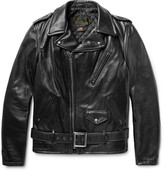 Schott Perfecto Leather Biker Jacket - Black