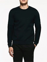 Calvin Klein Platinum Sculpted Double Faced Sweatshirt