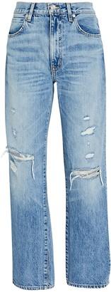 SLVRLAKE Sophie Straight-Leg Jeans