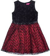 Betsey Johnson Girls 7-16 Soutache Dress