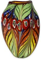 Dale Tiffany Dale TiffanyTM 12-Inch Peacock Feather Vase