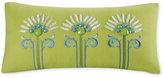"Echo Sardinia 9"" x 18"" Oblong Embroidered Decorative Pillow"