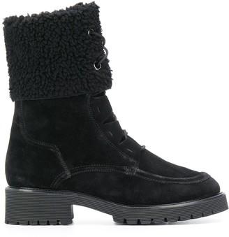 Högl Shearling-Panel Ankel Boots