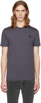 McQ by Alexander McQueen Grey Swallow Patch T-shirt
