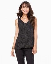 Charming charlie Embellished Swing Tank