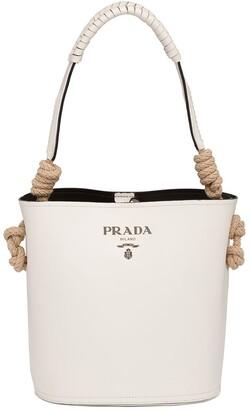 Prada Cord-Detail Bucket Bag