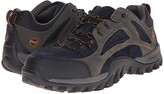 Timberland Mudsill Low Steel Toe (Titanium/Sapphire Leather With Mesh) Men's Industrial Shoes