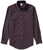 Brooks Brothers Non-Iron Regent Fit Heather Check Woven Shirt