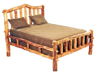 Mountain Woods Furniture Aspen Heirloom Platform Bed Mountain Woods Furniture