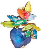 Erickson Beamon 'Splash' neon crystal ring