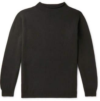 Margaret Howell Merino Wool Mock-Neck Sweater