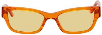 Han Kjobenhavn Orange Moon Trans Sunglasses