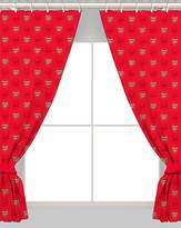 Arsenal Football Curtains 66x72