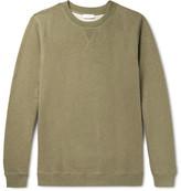 Sunspel Loopback Cotton-Jersey Sweatshirt