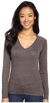 Smartwool Granite Falls V-Neck Top Women's Long Sleeve Pullover