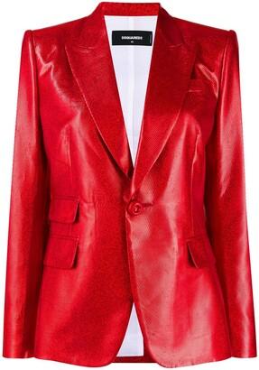 DSQUARED2 peaked lapel blazer
