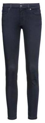 HUGO CHARLIE super-skinny-fit jeans in magic-flex dark-blue denim