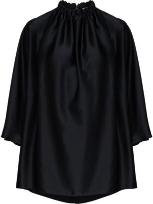 Roksanda Ava three-quarter sleeve silk blouse