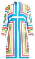 Emilia Wickstead Melodie Cloque Geometric Dress - Womens - Multi