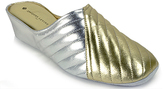 Jacques Levine #1221 - Leather Wedge Slipper