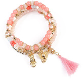 Riah Fashion Charm Stretch Bracelet