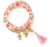 Riah Fashion Charm Stretch Bracelet