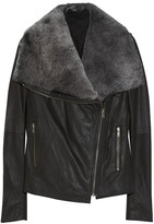 Muu Baa Muubaa Phoenix shearling and leather jacket