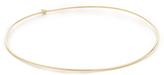 Jennifer Meyer Jewelry 18k Gold Diamond Thin Bangle