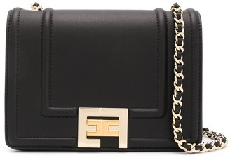 Elisabetta Franchi Logo Shoulder Bag