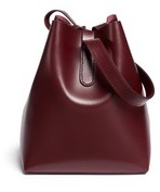 Creatures of Comfort 'Apple' small leather shoulder bag
