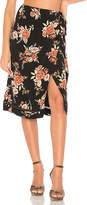 MinkPink Flower Wrap Skirt