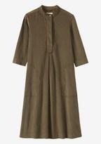 Toast Needlecord Tunic Dress