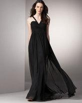 Robert Rodriguez Black Label Chiffon Gown