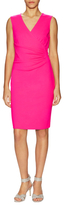 Diane von Furstenberg Layne Ruched Side Sheath Dress