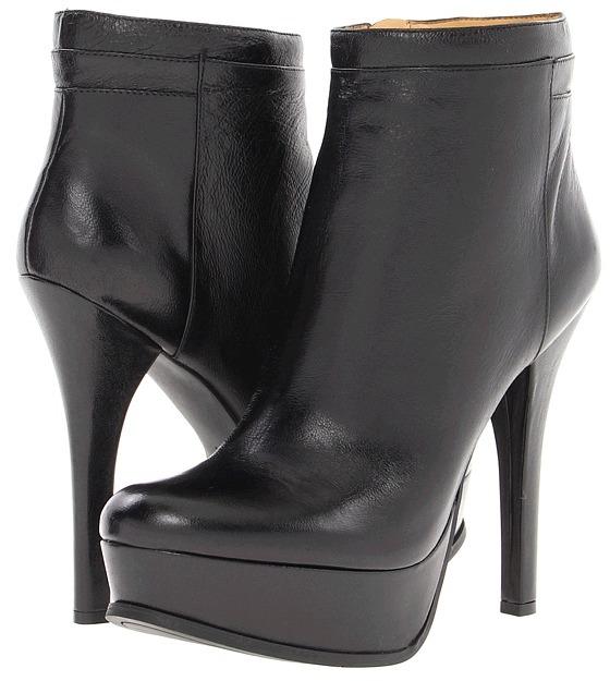 Nine West Like A Queen (Black Leather) - Footwear