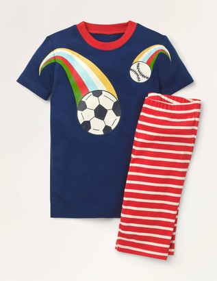 Cosy Graphic Short Pyjamas