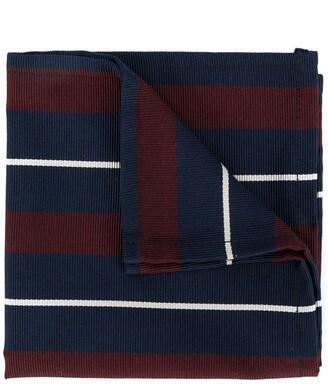 DSQUARED2 Striped Cotton Pocket Square