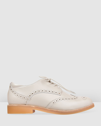 Bared Footwear - Women's Brown Flats - Courser Flat Lace Ups - Women's - Size One Size, 37 at The Iconic