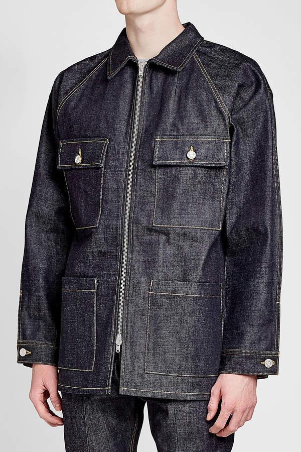 Fear Of God Raw Selvedge Denim Jacket