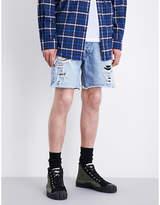 Fear Of God Distressed Denim Shorts